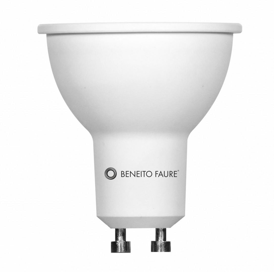 Ampoule Led GU10 Beneito et Faure 3,5W Blanc Chaud 3000K