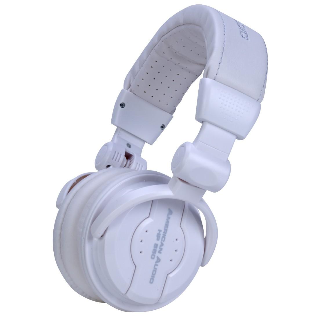 Casque audio DJ American audio HP550 snow