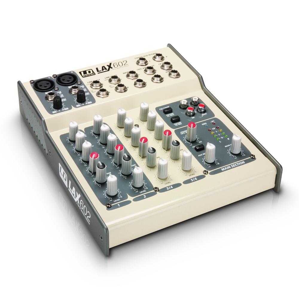 Livraison gratuite console de mixage ld systems lax 602 6 - Table de mixage professionnelle studio ...
