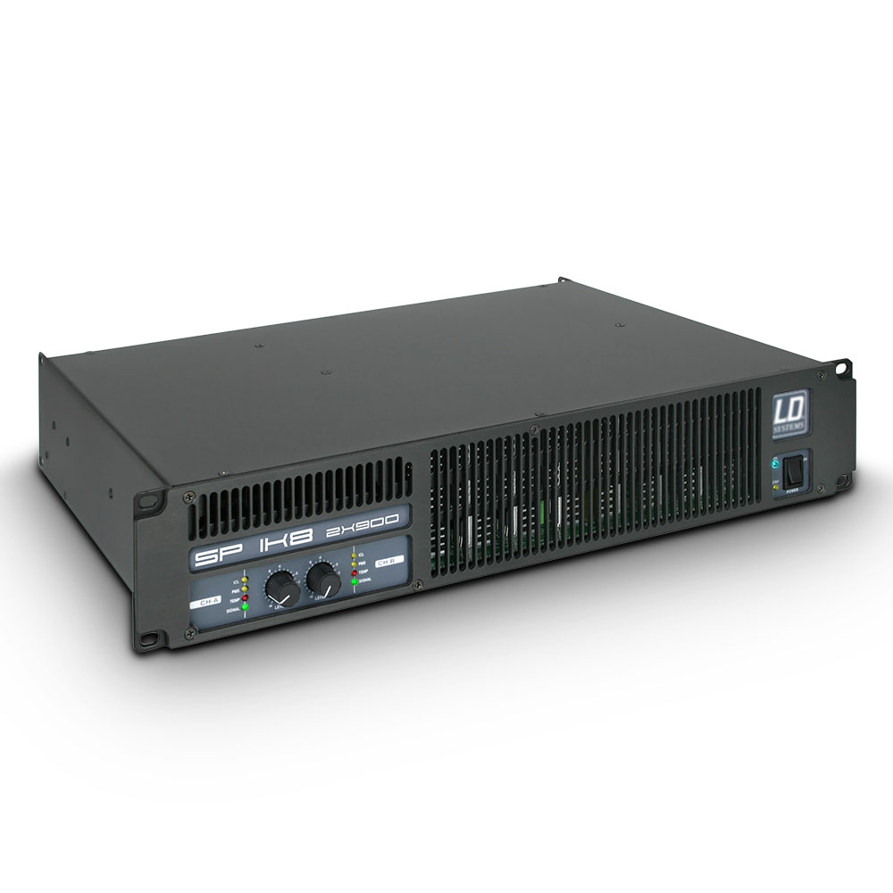 LD Systems SP 1K8 Amplificateur Sono 2 x 880 W sur 2 Ohms