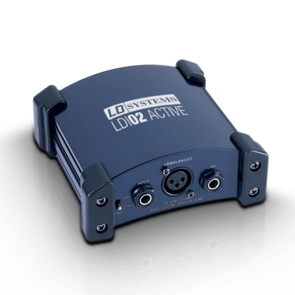 Boitier de direct actif LD systems LDI 02