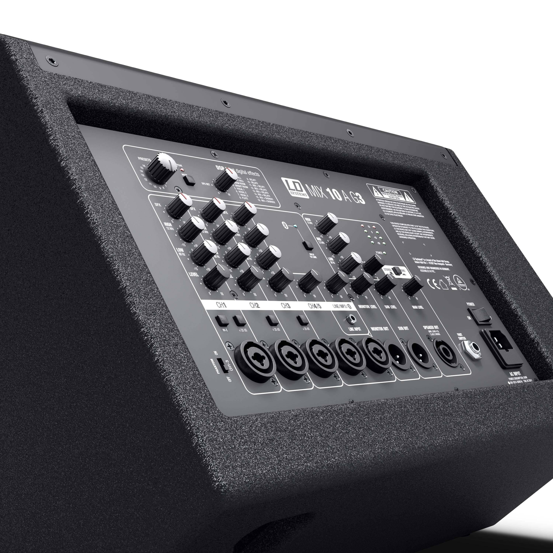 Enceinte active LD Systems 2 voies avec table de mixage intégré de 7 cannaux