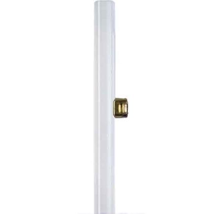Tube Linolite Led 230V 5W remplace 35W S14d opale 30cm