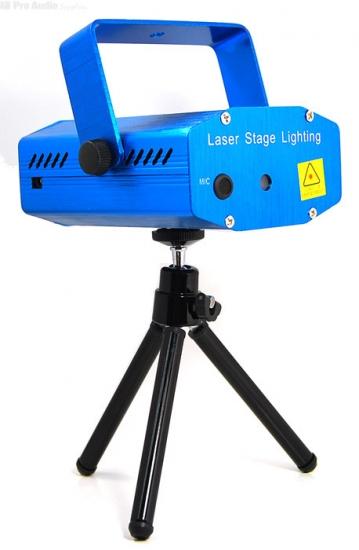 Laser mini laser bicolore vert 30mW + rouge 80mW étoilé avec micro