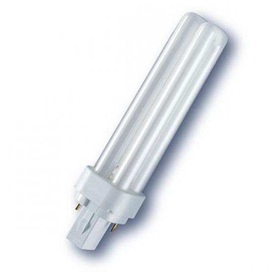 Ampoule éco fluocompacte SYLVANIA Lynx D G24d-2 18W 840 code 0025914