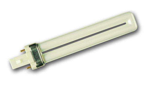 Lampe eco fluocompacte SYLVANIA LYNX S culot G23 9W 840 code 0025890