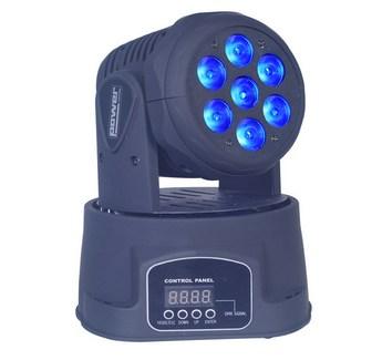 Lyre Wash Quad 84W Power Lighting 7x12W RGBW