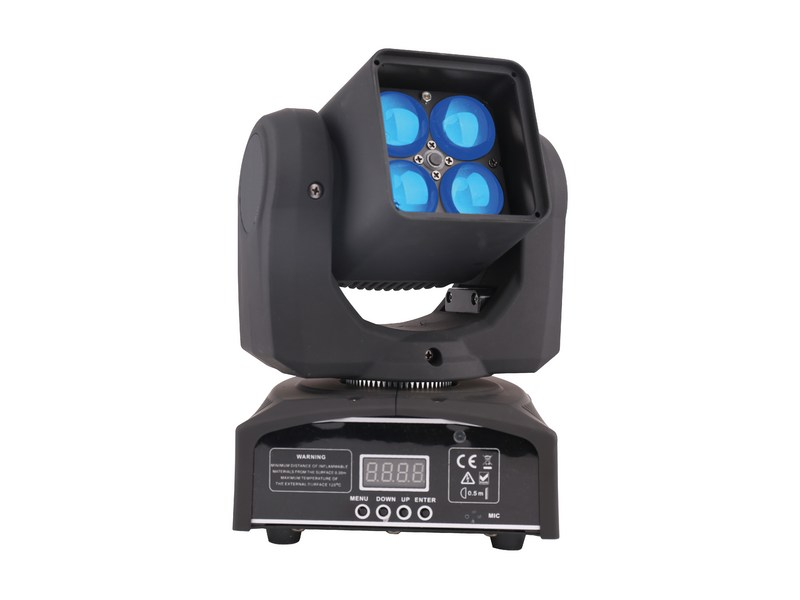 Lyre Power Lighting Pocket Quad Zoom 4 x 12W RGBW