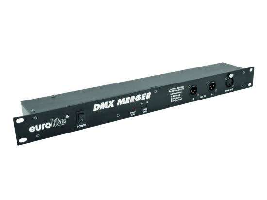 Merger DMX Eurolite 2 entrées vers 1 sortie DMX
