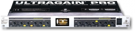 Behringer Ultragain Pro MIC2200 pré ampli micro 2 canaux
