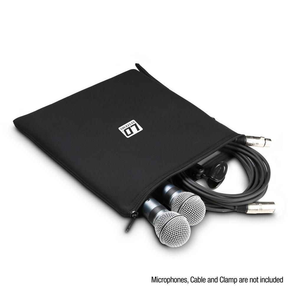 Sac de rangement universel pour microphones 300 x 300 mm