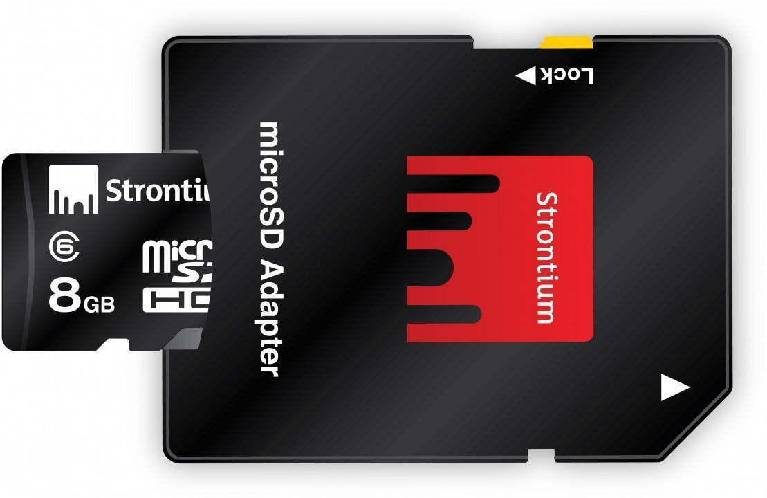 Carte Micro SD 8Go avec adaptateur