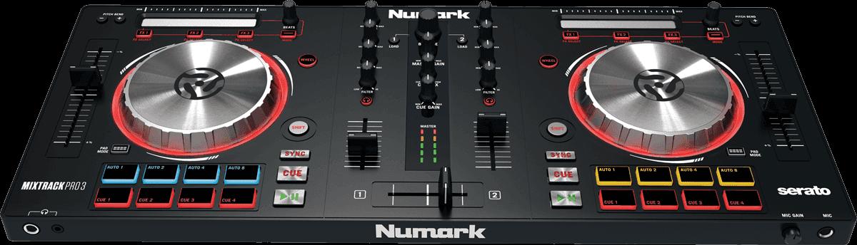 Contrôleur Numark - MIXTRACKPROIII 2 Voies + 16 Pads + Carte Son