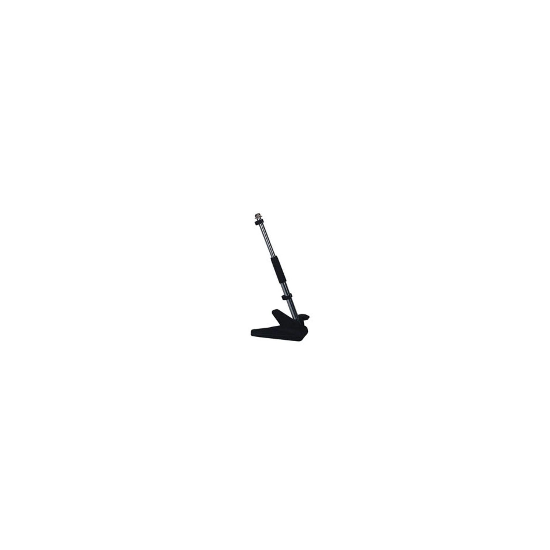 Pied de micro bas de sol ou table 54cm téléscopique