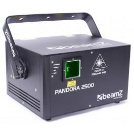 Laser 2500mW PANDORA 2500 BeamZ DMX et ILDA