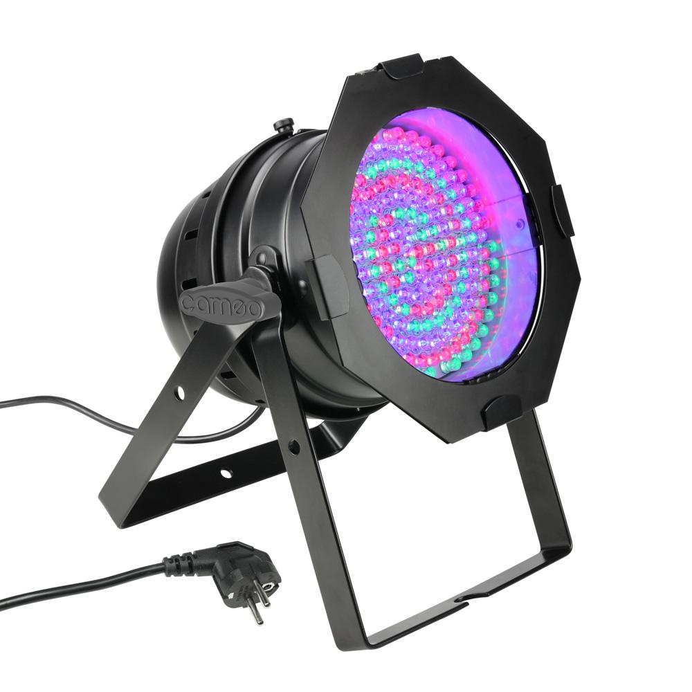 livraison gratuite projecteur par 64 183 leds 10mm rgb cameo projecteur led d co prozic. Black Bedroom Furniture Sets. Home Design Ideas