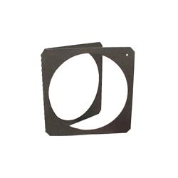 Porte Filtre Carton noir pour gélatine 215X215