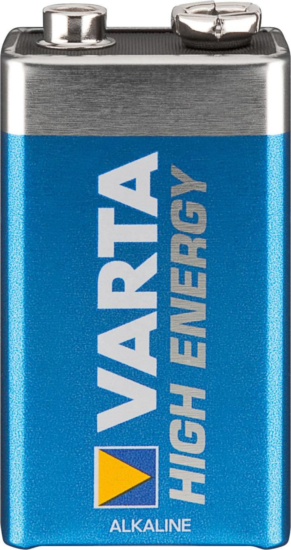 Pile 9V rectangulaire 6LR61 VARTA
