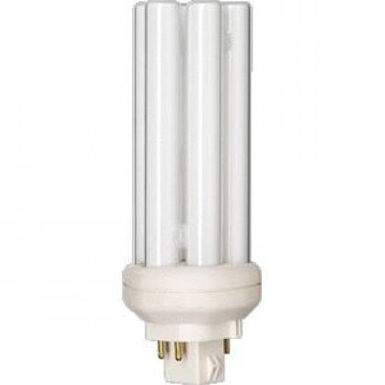 Ampoule éco fluocompacte Philips PL-T 4P GX24q-2 18W 827