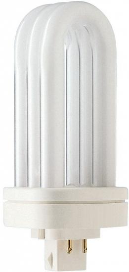 Ampoule éco fluocompacte Philips PL-T 4P GX24q-2 18W 827 Destockage