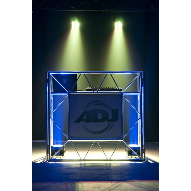 Régie DJ ADJ PRO EVENT TABLE devant de scène Aluminium