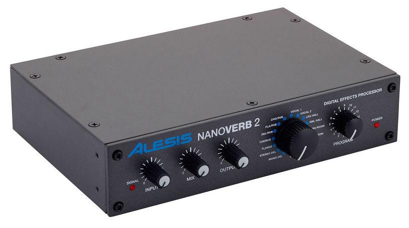 Effets - Alesis  NANOVERB2 Numérique 18 bits 1/3 d'U