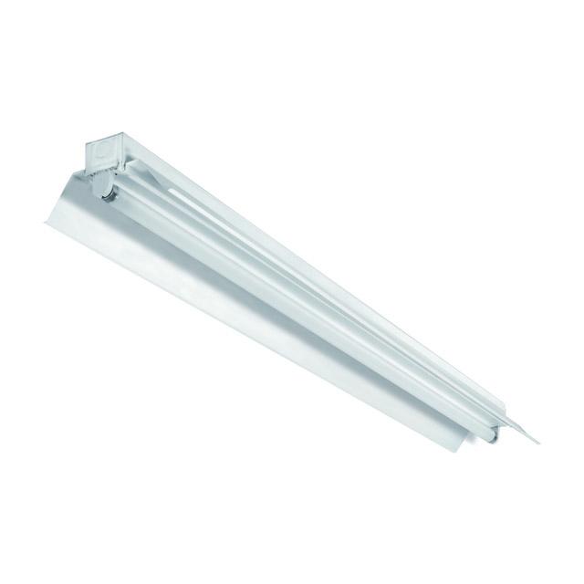 livraison gratuite reglette fluorescente 58w 150cm blanc avec reflecteur reglettes. Black Bedroom Furniture Sets. Home Design Ideas