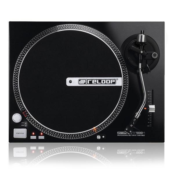 Platine Vinyle Noire - Reloop - RP 1000 M