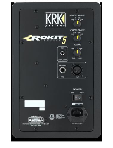 Enceinte monitoring KRK RP5 Rokit 5 G3
