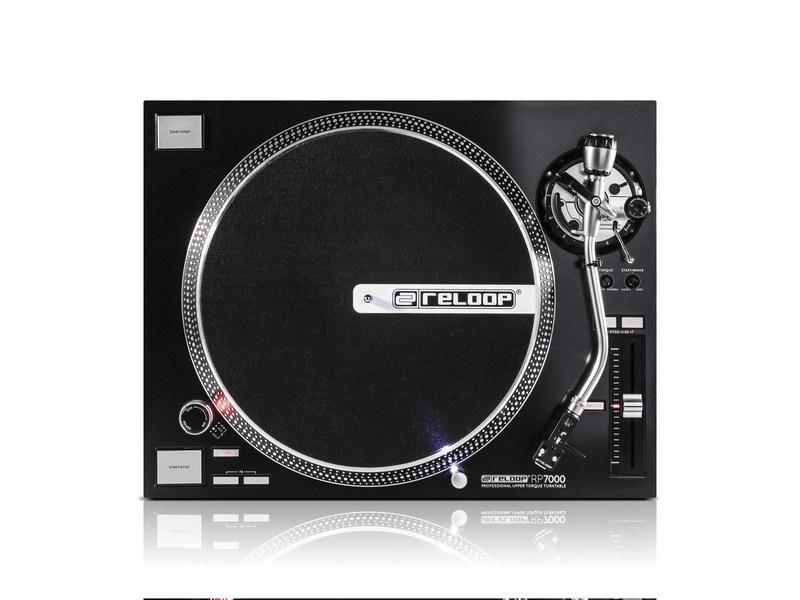 Platine Vinyle Noire - Reloop - RP 7000