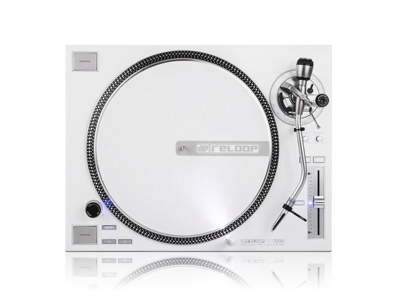 Platine Vinyle Blanche - Reloop - RP 7000 LTD