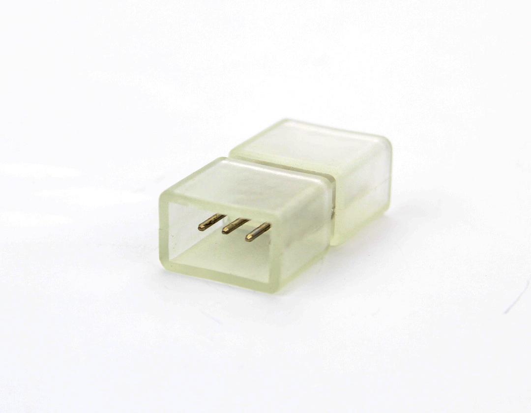 Connecteur 4 contacts pour ruban de led couleur 230V