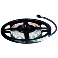 Ruban LED 12V Blanc Froid 300 LEDs 3528 rouleau de 5 m sur fond blanc