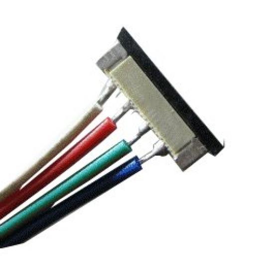 Connecteur pour ruban ledRVB  4 contacts type RVB