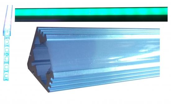 Livraison gratuite profil d 39 angle aluminium pour ruban - Profile pour ruban led ...