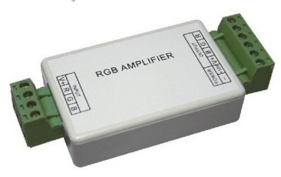Amplificateur repeteur/copieur pour Led  RVB 3x 4A