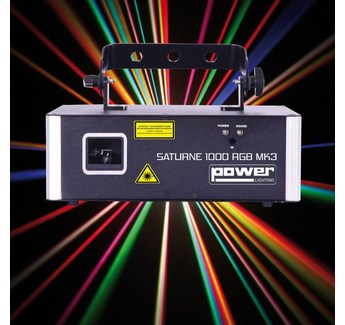 Laser Power lighting Saturne 1000 RGB MK3  DMX et ILDA 20Kpps