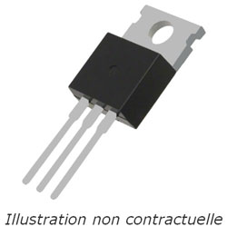 Transistor MOSFET N 200V IRFB4020 TO-220AB