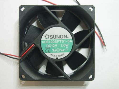 Ventilateur 80x80x25mm 12Vdc 2.6W