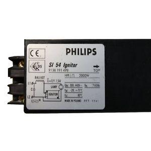 amorceur Philips SI 54 2 fils 360-415V 380V 400V 2KW 2000W