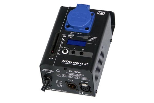 Bloc de puissance OXO simoun 2R 1 canal 10A DMX et manuel