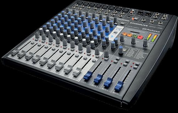 Livraison gratuite table de mixage presnus slmar12 usb 14 - Table de mixage studio d enregistrement ...
