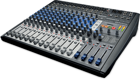 Table de mixage Presnus SLMAR16 USB 18 canaux enregistrement multicanal