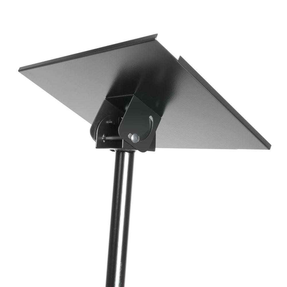 Support avec pied pour ordinateur portable ou vidéo projeteur Adam hall SLT003