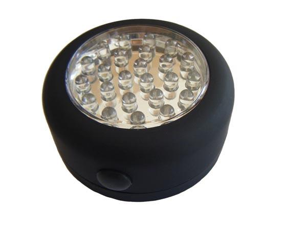 livraison gratuite lampe spot 24leds piles pepites. Black Bedroom Furniture Sets. Home Design Ideas