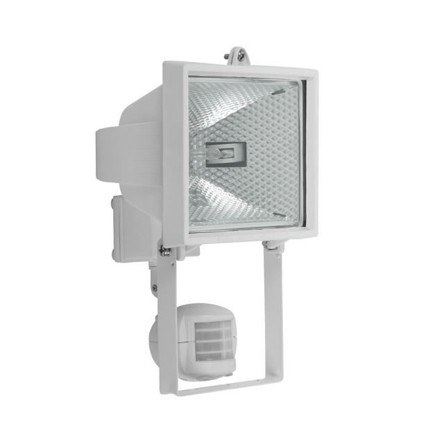 livraison gratuite projecteur exterieur 500w rectangle blanc avec d tecteur de mouvement prozic. Black Bedroom Furniture Sets. Home Design Ideas