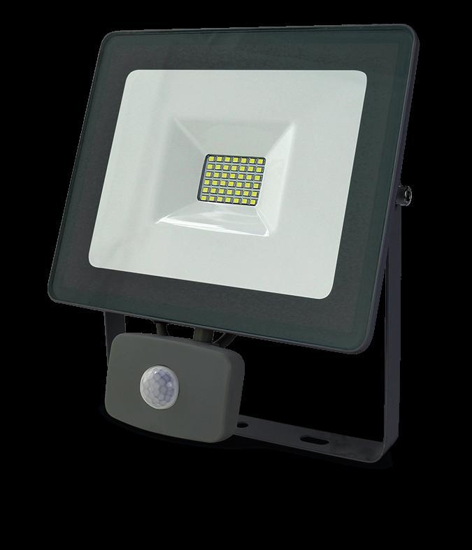Projecteur led 30W blanc chaud 3000K avec détecteur