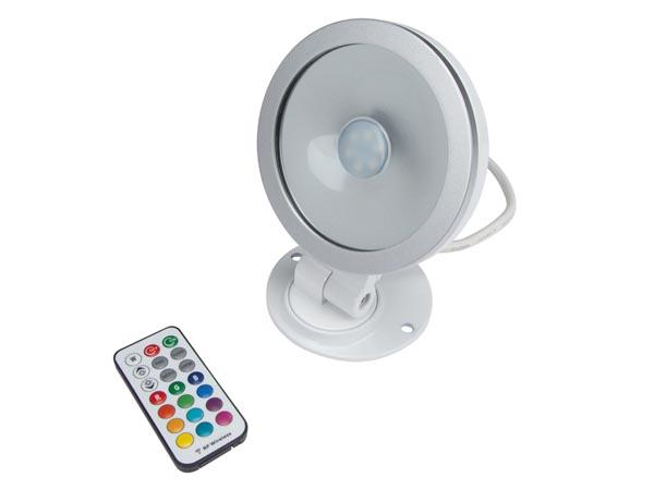 Projecteur Led RGB 20W IP65 à télécommande