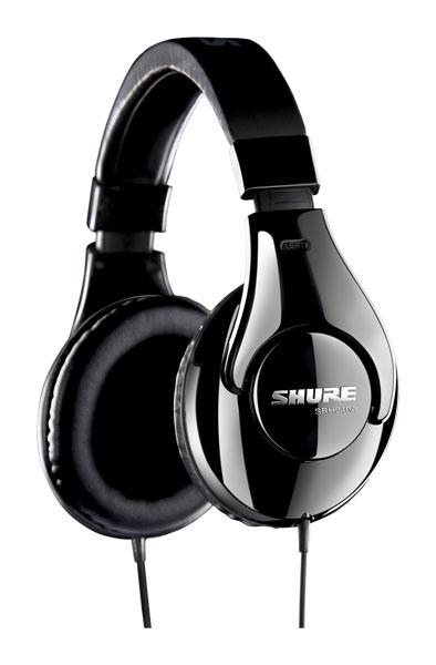 Casque Audio Pro Shure - SRH240-A Nomade fermé