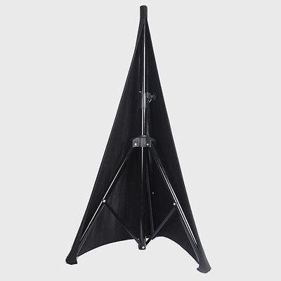 Housse de Pieds triangle 2 faces en Lycra noir 1m80